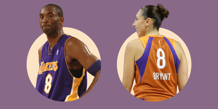The WNBA's Diana Taurasi marked Kobe Bryant's birthday by wearing his number and by playing her best.