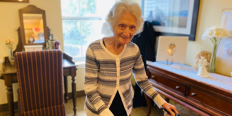 This amazing 107-year-old still enjoys dancing and loves to stay active.