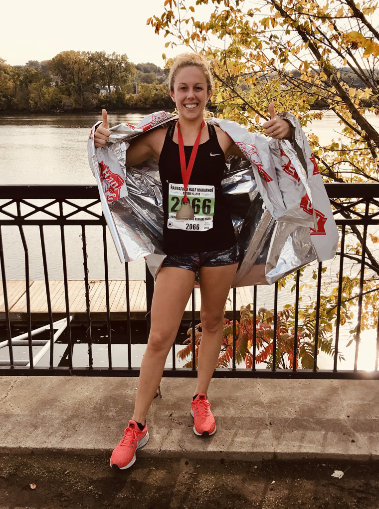 Newlywed Caitlin Barber went from running half-marathons to feeling winded by simply going to work as a long hauler with COVID-19. Being sick doesn't impact just her physical health, she's noticed her mental health is worsening, too.