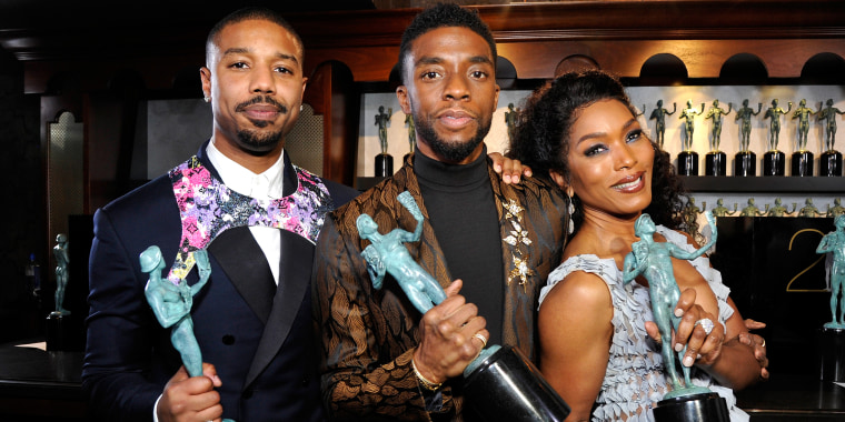 25th Annual Screen Actors Guild Awards - Trophy Room
