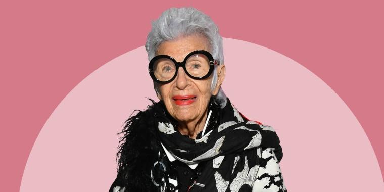 Iris Apfel turns 99 on Saturday.