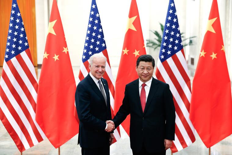 Image: Xi Jinping and Joe Biden