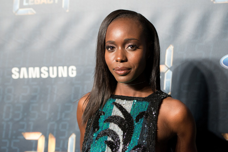 Image: Actress Anna Diop attends a premiere in New York City.