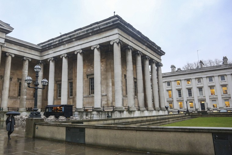 Image: The British Museum in London, England.