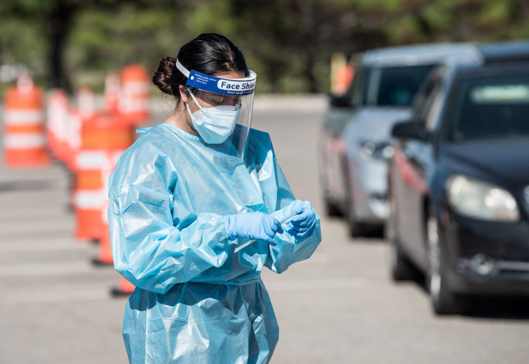 Image: El Paso Receives Mobile Morgue Units As Texas Sees Spike In Coronavirus Infections