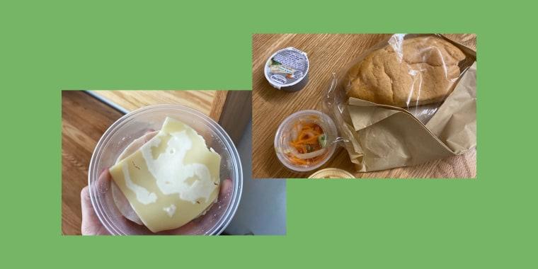 Image: NYU quarantine food