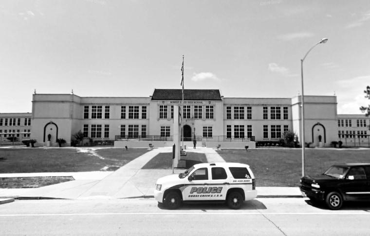 The Robert E. Lee High School in Baytown, Texas.