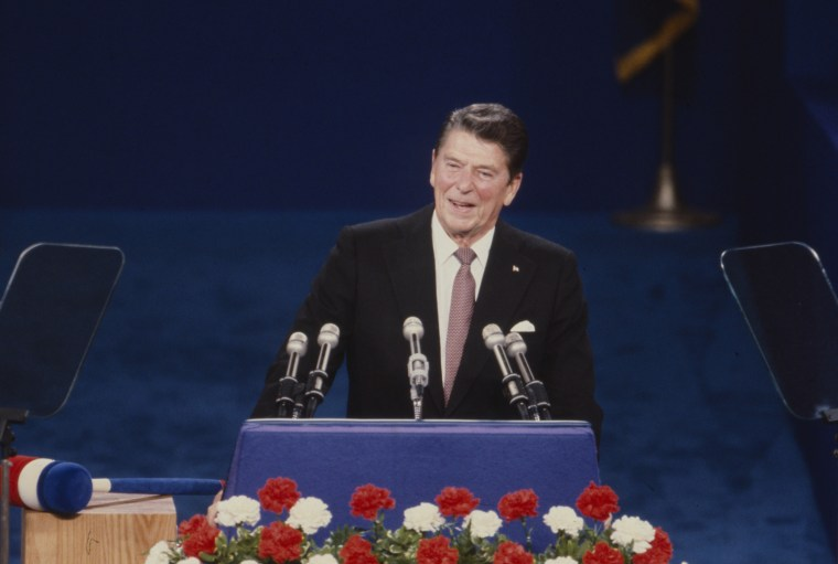 Reagan Speaking At The 1980 Republican National Convention