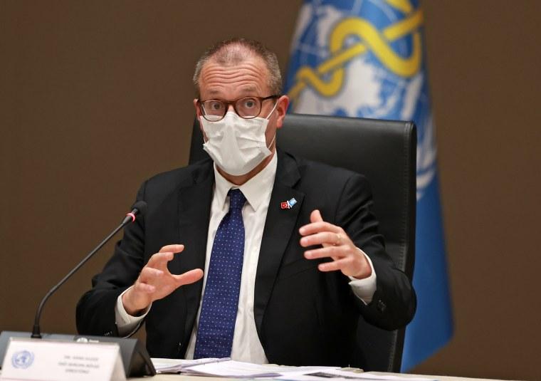 Fahrettin Koca - Hans Henri Kluge joint press conference in Ankara