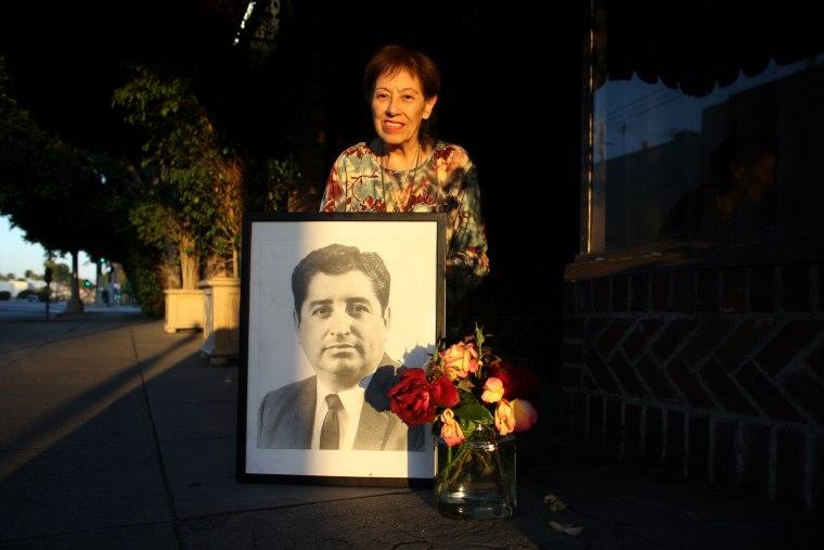 On the day LA Times columnist Ruben Salazar was killed by a sheriff s deputy, Frank Casado scrawled
