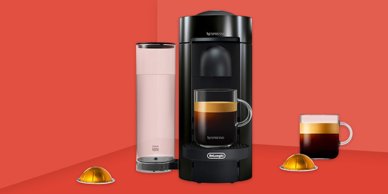 Nespresso VertuoPlus coffee maker. Nespresso's VertuoPlus is for coffee lovers looking for the ultimate brewing experience. Offering freshly brewed coffee straight from a pod available on Amazon, Walmart, Wayfair, Target, Macy's, Bloomingdales and more.