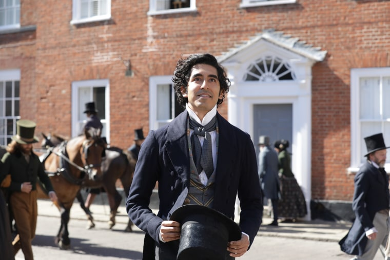 """Dev Patel in """"The Personal History of David Copperfield."""""""