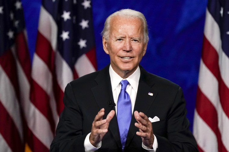 Joe Biden Accepts Presidential Nomination At Democratic National Convention