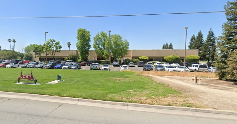 The Foster Farms Poultry Processing Plant in Livingston, Calif.