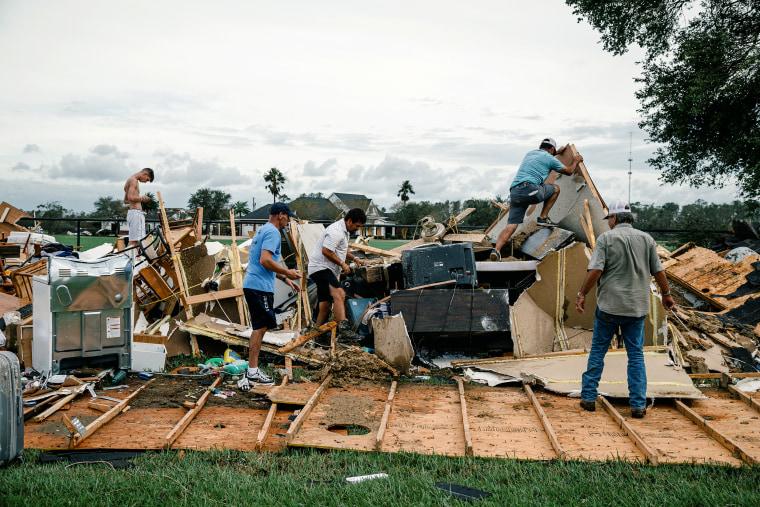 Hurricane Laura's Damage Falls Most Heavily on Louisiana