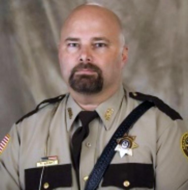 Image: Arkansas County Sheriff Todd Wright.