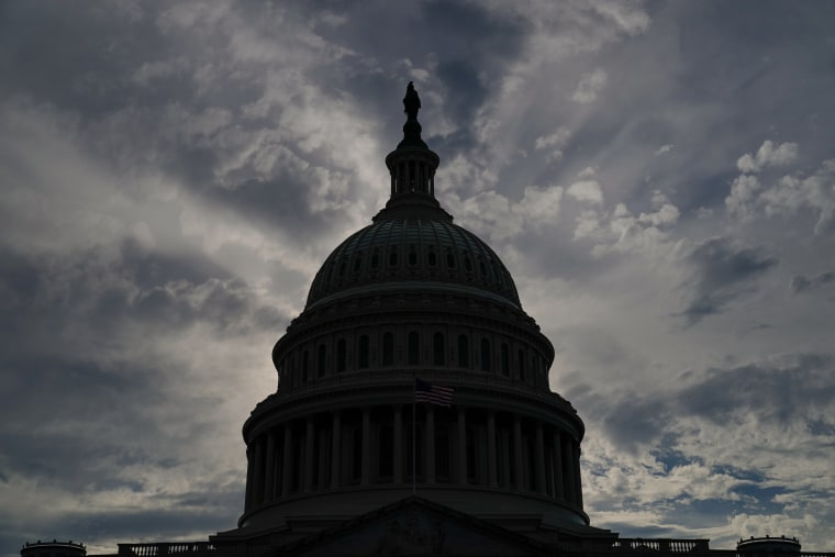 Image: The U.S. Capitol dome is seen in Washington