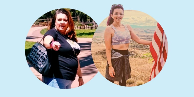 Her slow-and-steady approach worked. She lost 90 pounds and is maintaining her current healthy weight.