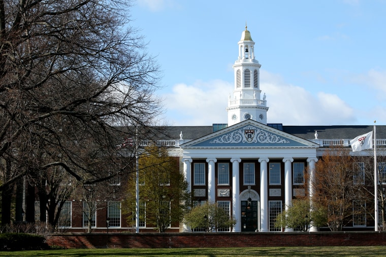 Image: Harvard University campus, Coronavirus Pandemic Causes Climate Of Anxiety And Changing Routines In America