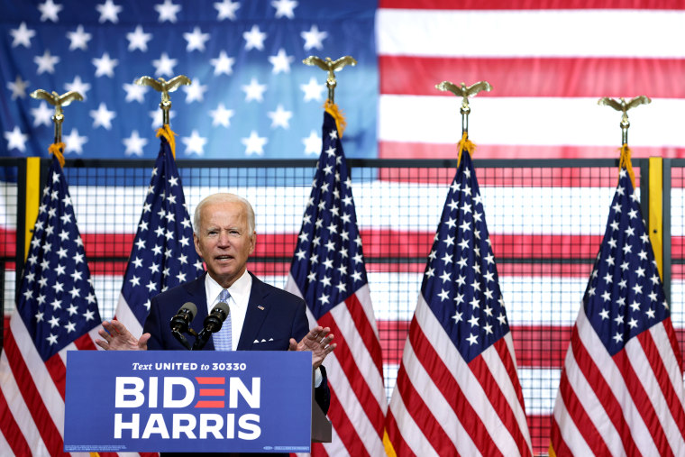 Image: Presidential Candidate Joe Biden Holds Campaign Event In Pittsburgh