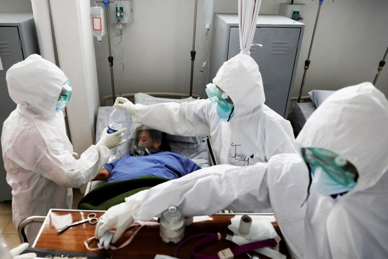 Image: Outbreak of the coronavirus disease (COVID-19) in Mexico City