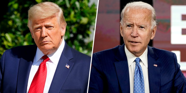 Image: Donald Trump Joe Biden