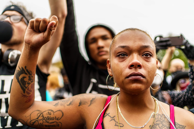 Image: TOPSHOT-US-politics-RACISM-POLICE