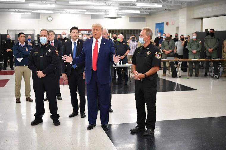 Image: Donald Trump, US-POLITICS-TRUMP-PROTESTS-RACISM