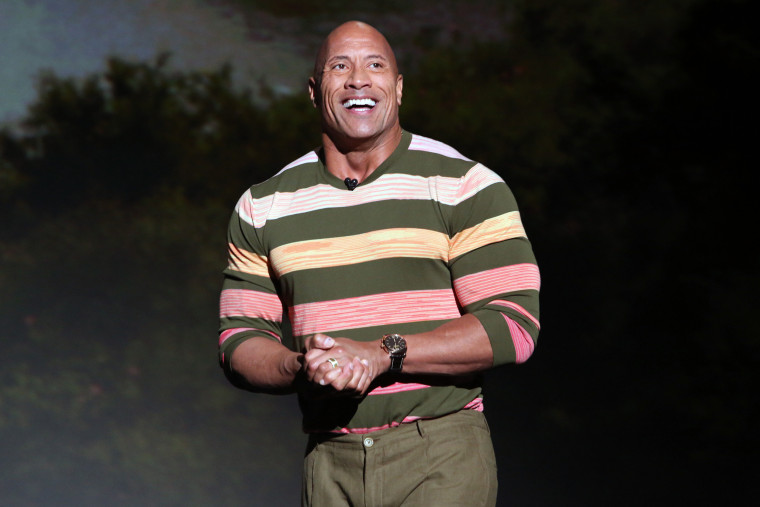 Image: Dwayne Johnson, The Rock, Disney Studios Showcase Presentation At D23 Expo, Saturday August 24