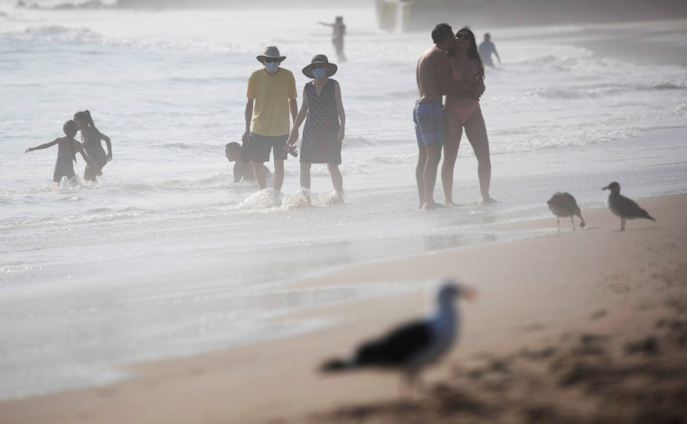 Image: The outbreak of the coronavirus disease (COVID-19), in Pacific Palisades