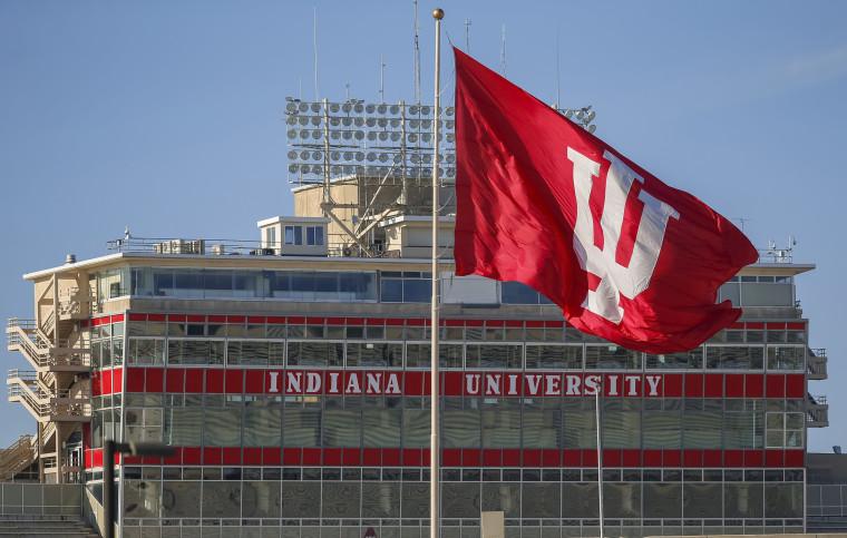Image: Rutgers v Indiana