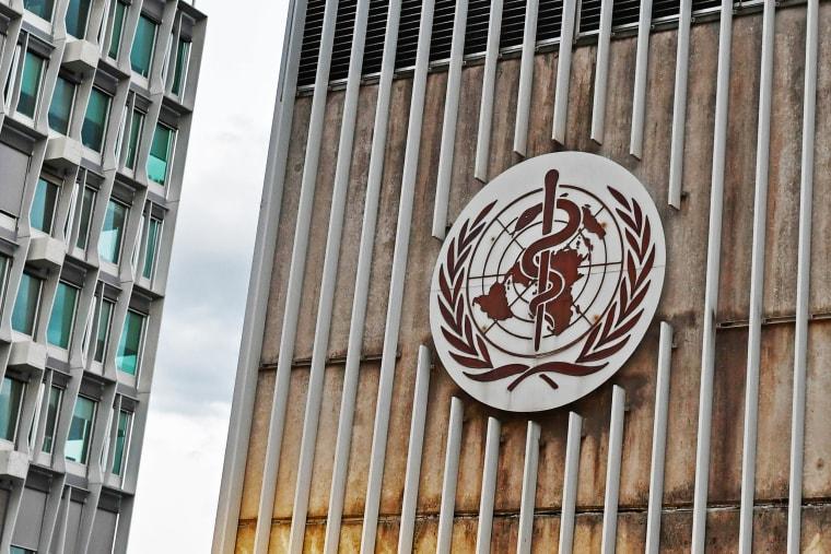 Image: SWITZERLAND-WHO-HEALTH-VIRUS