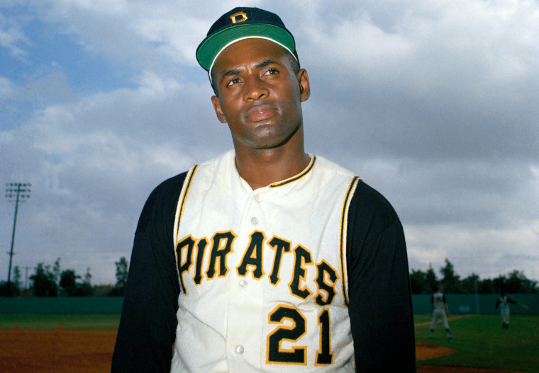 Pittsburgh Pirates' outfielder Roberto Clemente in March 1967.