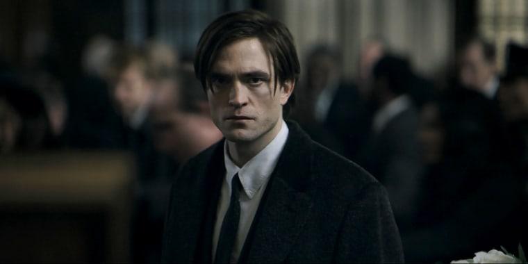 "Robert Pattinson in \""The Batman.\"""