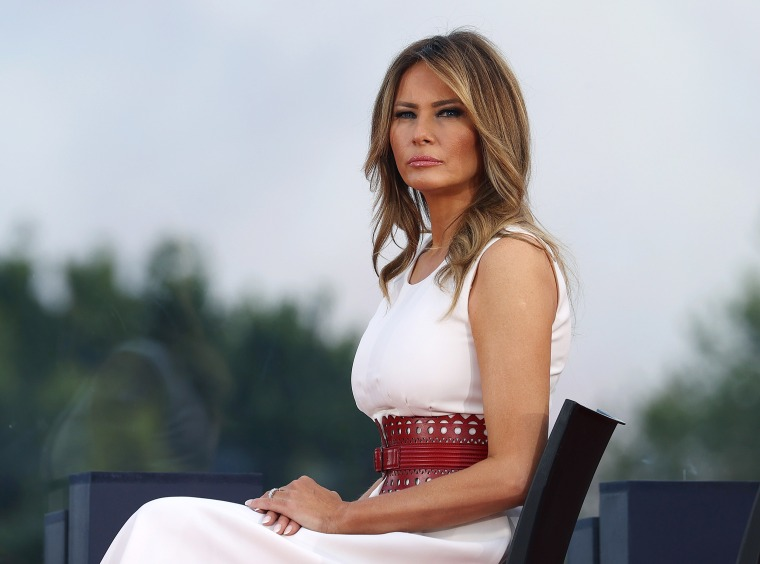 Image: Melania Trump, Independence Day Celebrated At The White House