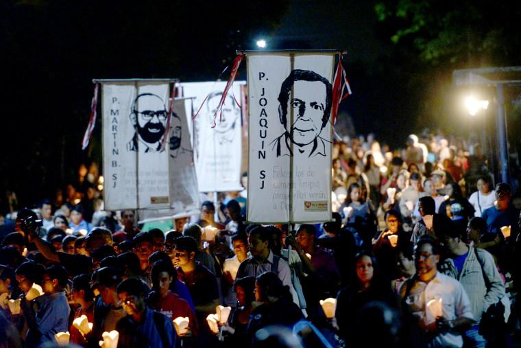 EL SALVADOR-WAR-RELIGION-ANNIVERSARY