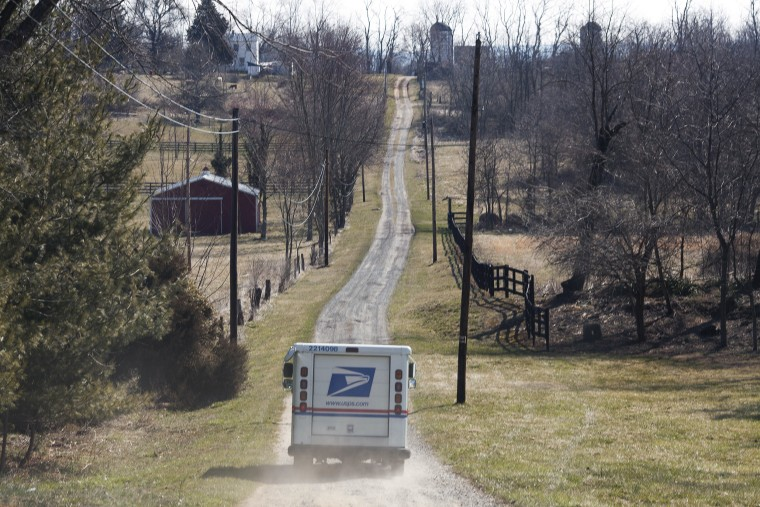 Rural Mail Delivery Route