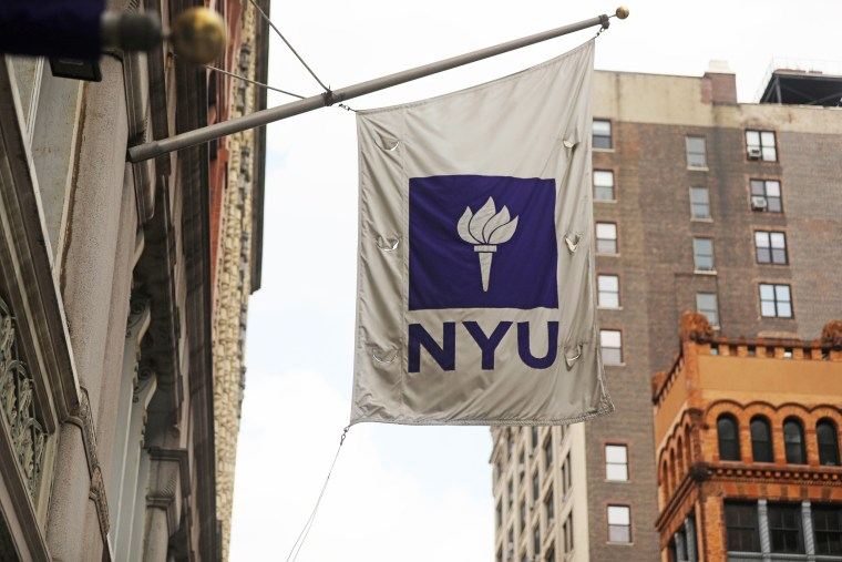 Image: NYU Sets Up COVID-19 Testing Tent Ahead Of Start Of School
