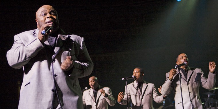 Photo of Terry WEEKS and TEMPTATIONS and Otis WILLIAMS and Bruce WILLIAMSON and Ron TYSON