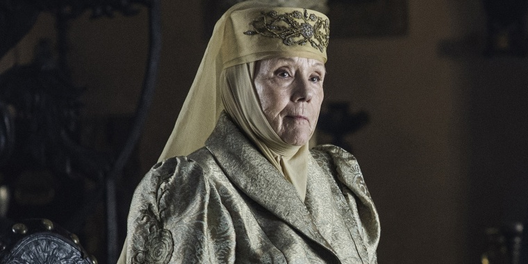 "Diana Rigg in HBO's ""Game of Thrones."""