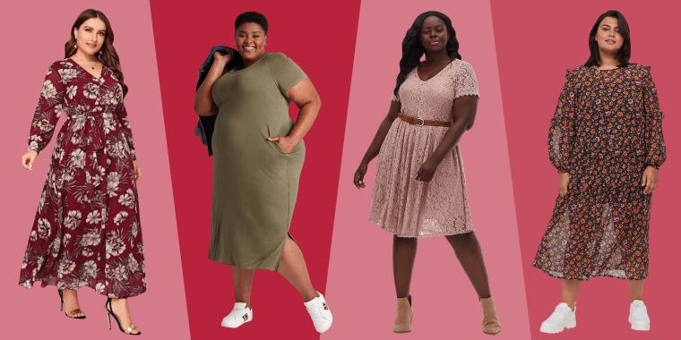 womens plus-size fall dresses