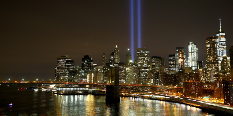 "Image: 9/11 Memorial ""Tribute in Light"""