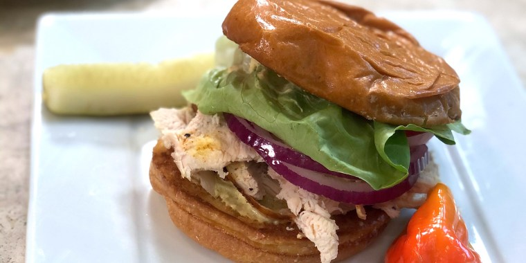 Patti LaBelle's Fuss-Free Chicken Sandwiches