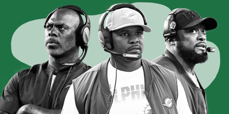 The Los Angeles Chargers' Anthony Lynn, the Miami Dolphins' Brian Flores and the Pittsburgh Steelers' Mike Tomlin are currently the only Black head coaches in the NFL.