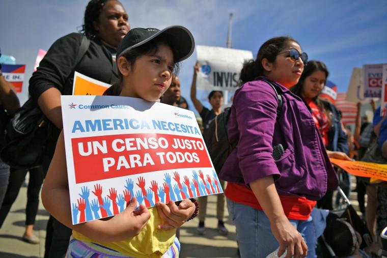 Demonstrators rally at the U.S. Supreme Court