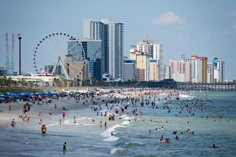 Image: Labor Day Weekend Celebrated In Myrtle Beach, South Carolina