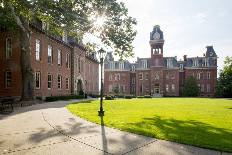 The campus of West Virginia University in Morgantown.