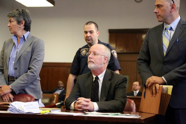 Dr. Robert Hadden appears in Manhattan Supreme Court on Sept. 4, 2014.