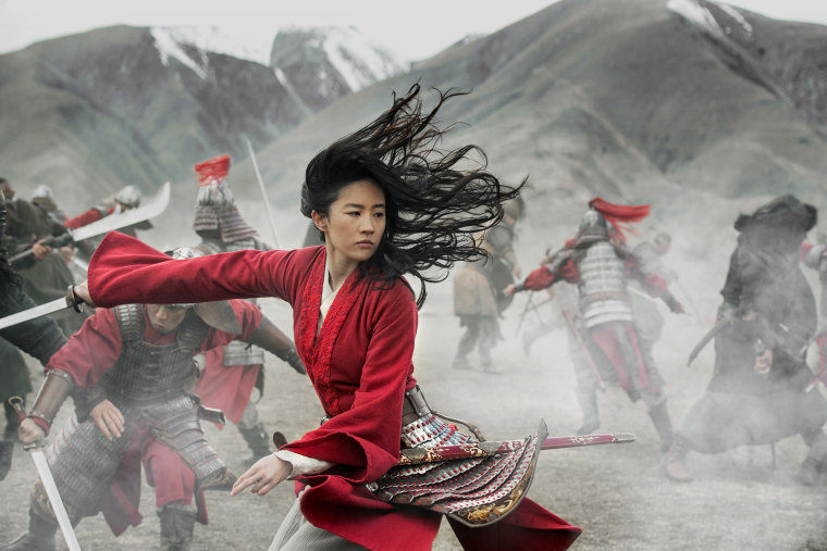 "Liu Yifei in Disney's ""Mulan."""