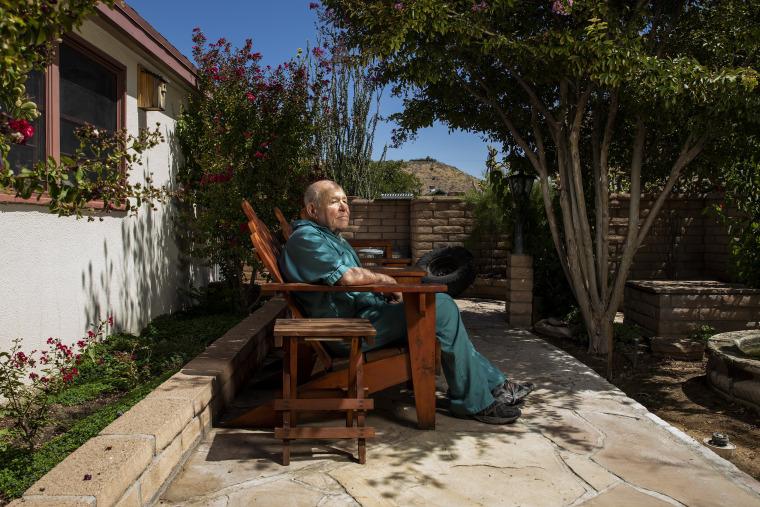 Image: Eddie Pattillo, 81, at his home in Kingman, Ariz.